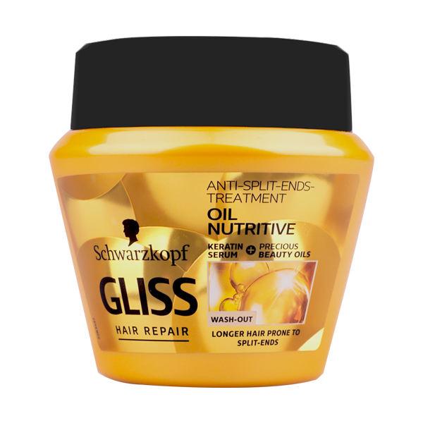 ماسک مو گلیس سری Hair Repair مدل Oil Nutritive حجم 300 میلی لیتر -  - 3