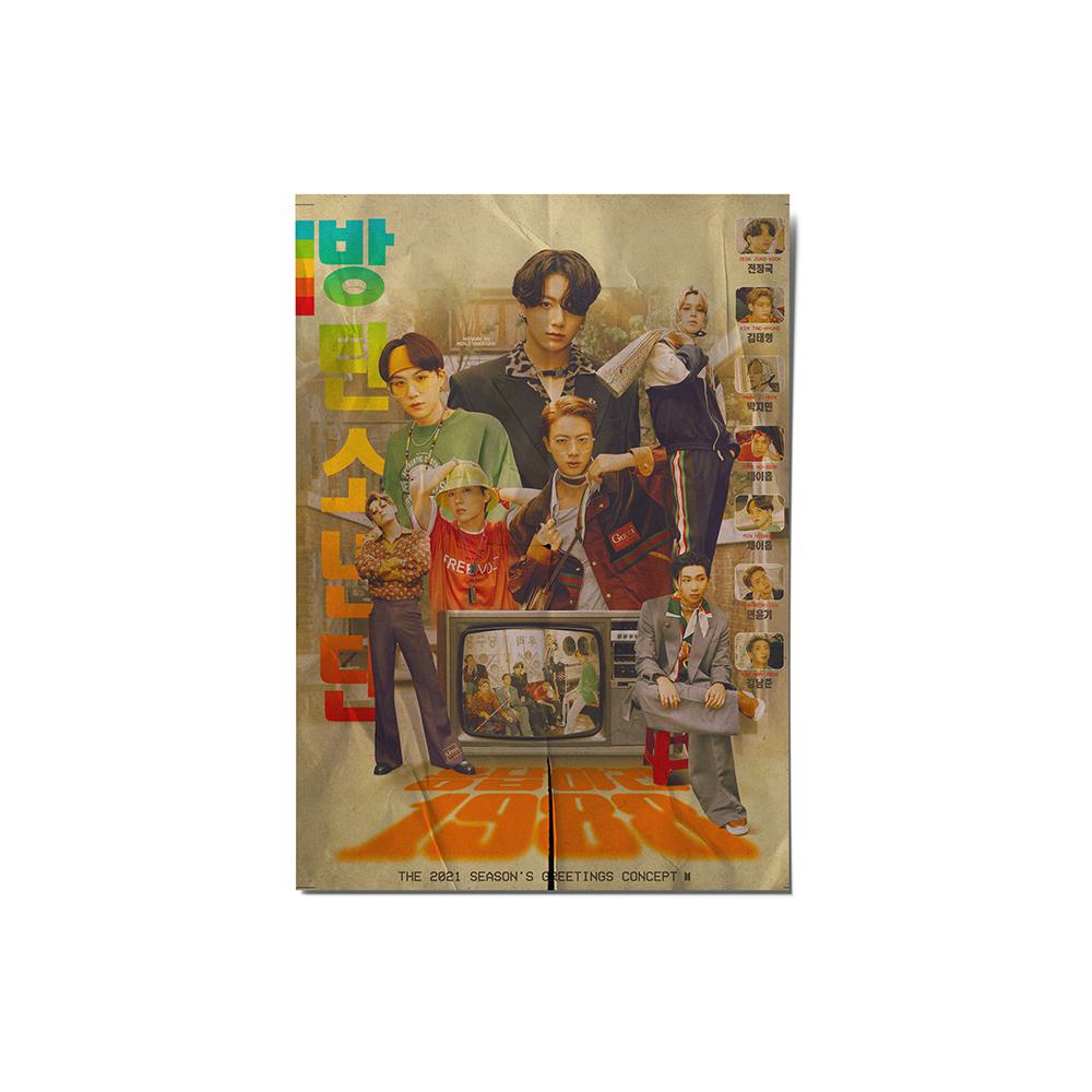 کارت پستال ماسا دیزاین مدل  bts stkv0535