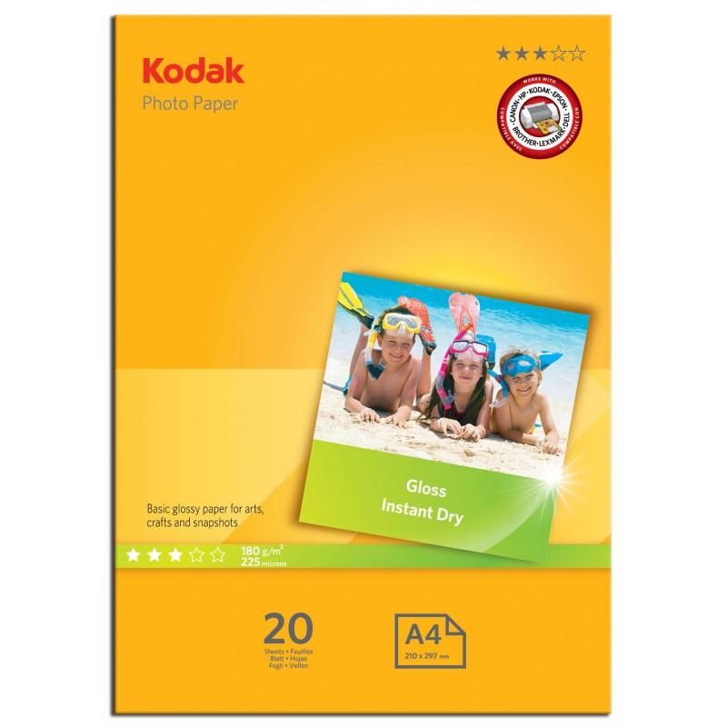 کاغذ چاپ عکس کداک مدل  photo Paper سایز A4 بسته 20 عددی
