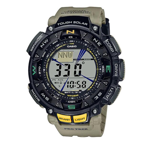 ساعت مچی دیجیتال مردانه کاسیو مدل PRG-240-5DR
