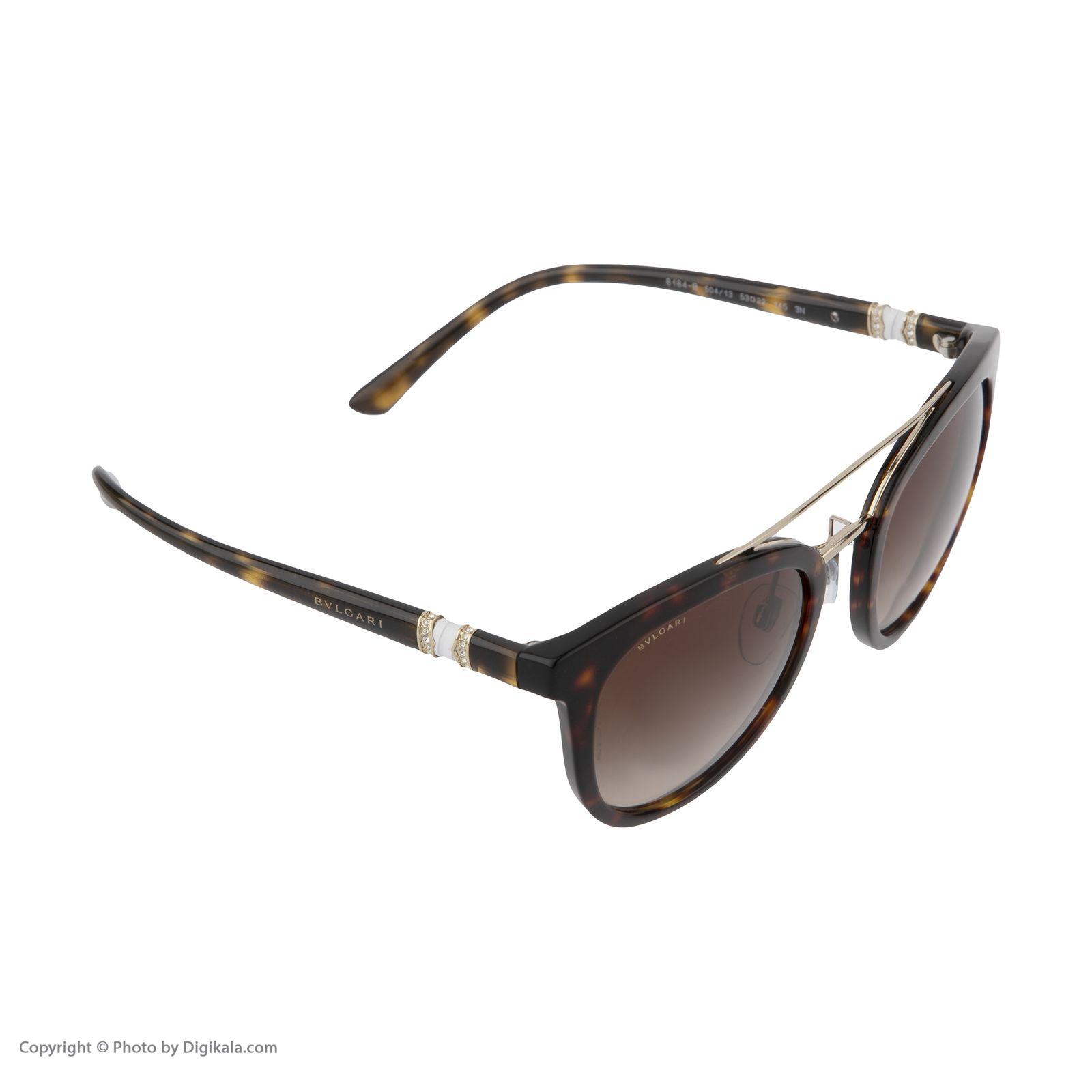 عینک آفتابی زنانه بولگاری مدل BV8184B 50413 -  - 6