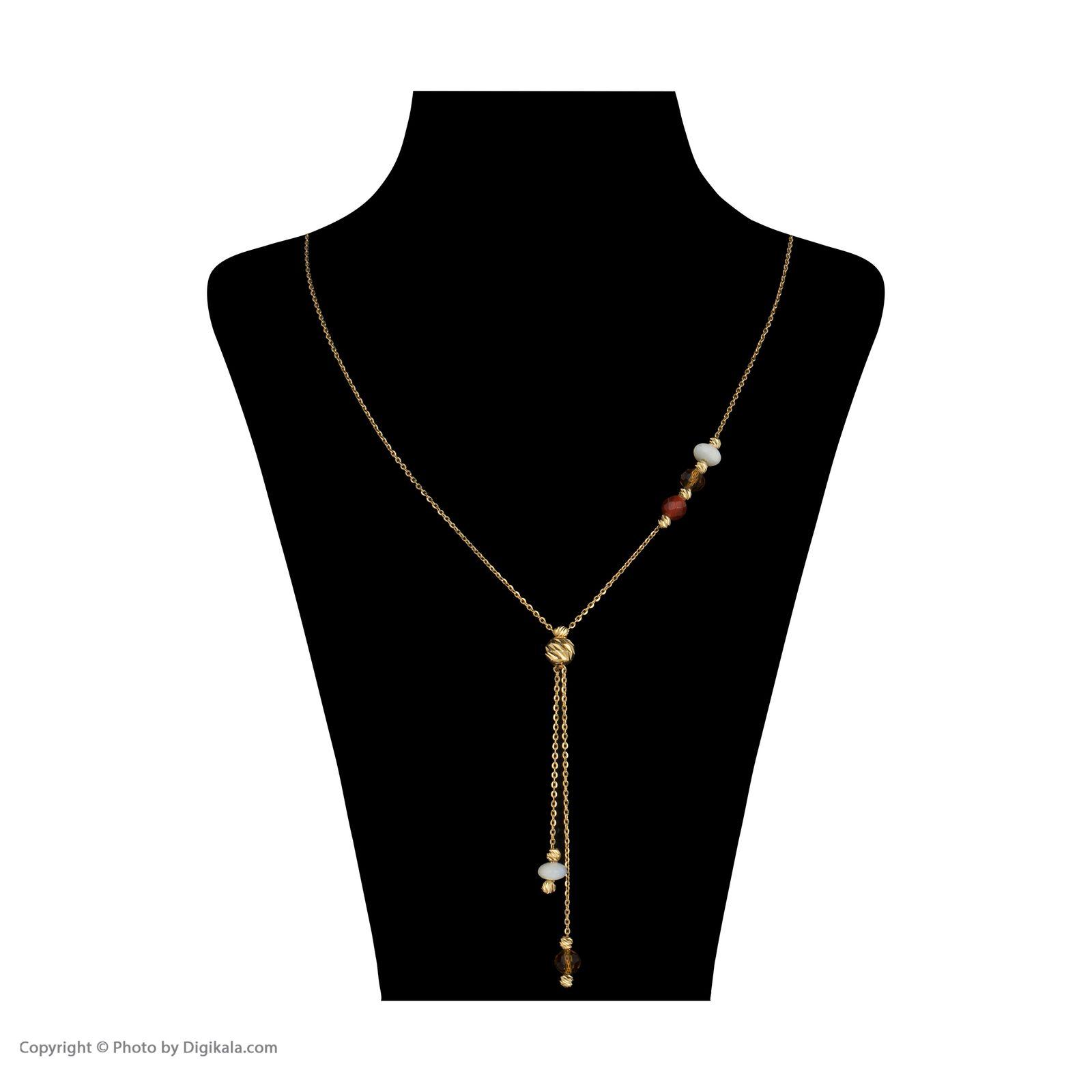 گردنبند طلا 18 عیار زنانه سیودو مدل 145816 -  - 3