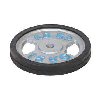 وزنه هالتر مدل E10 وزن 15 کیلوگرم بسته 2 عددی