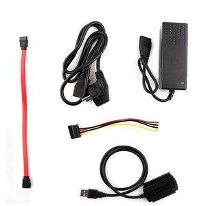 تجهیزات تبدیل هارد SATA/IDE به USB2.0 مدل HI-SPEED 480 مجموعه 3عددی