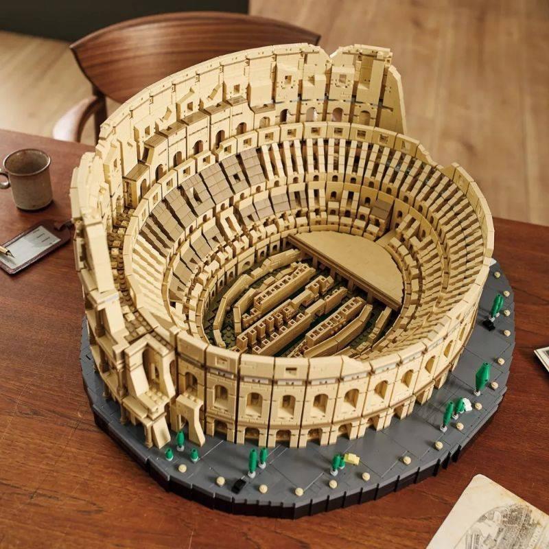 لگو مدل ماکت بزرگ کولوسئوم رم main 1 5