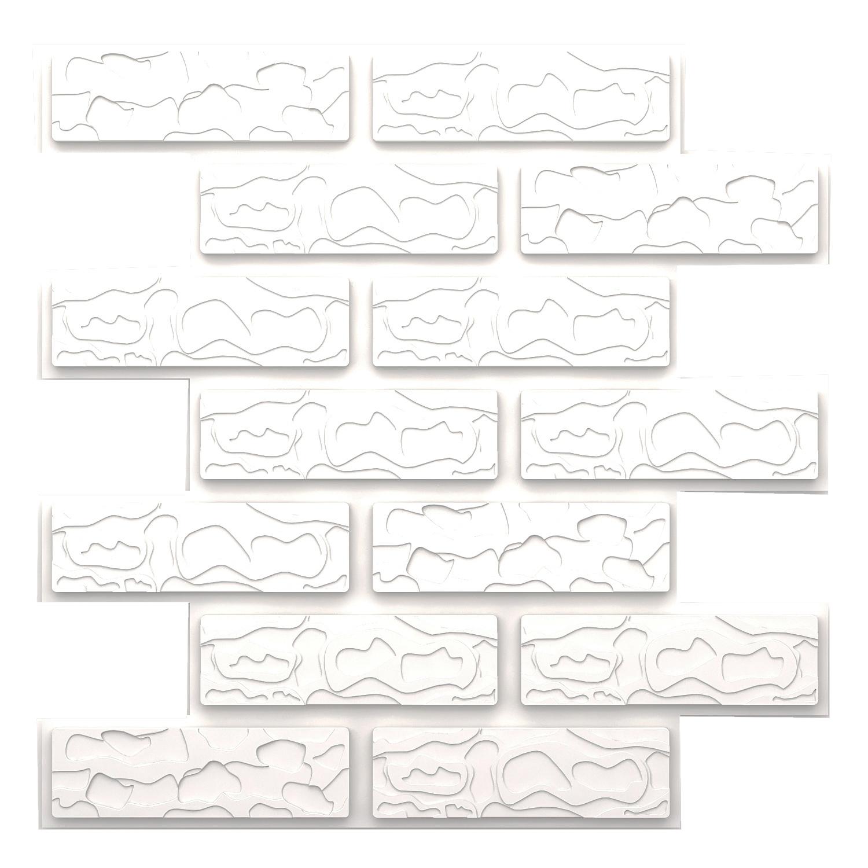 دیوارپوش مدل سه بعدی طرح آجری بسته 15 عددی