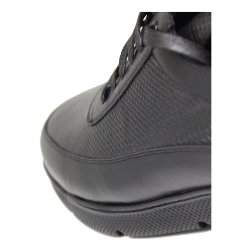 کفش روزمره مردانه چرم آرا مدل sh017