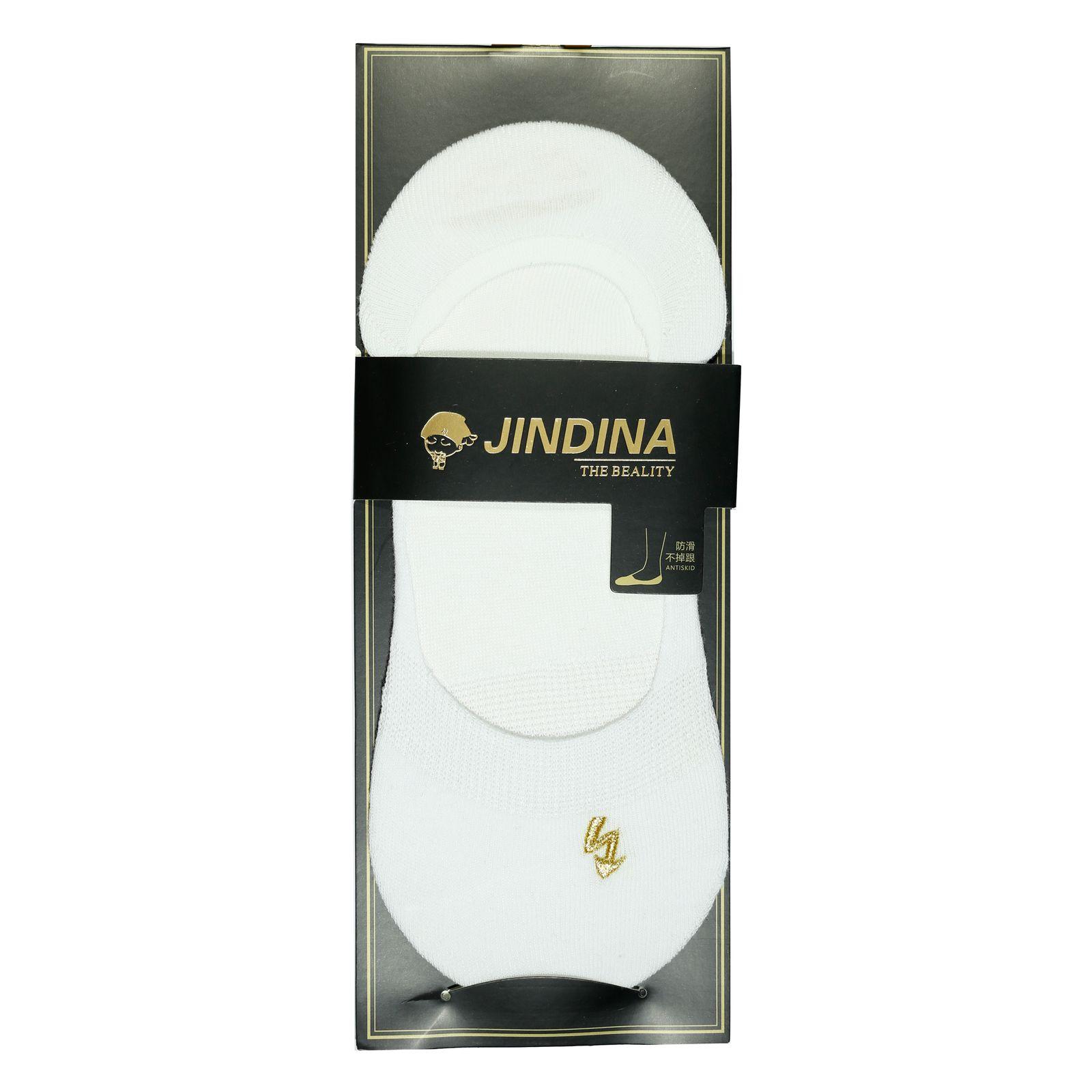 جوراب مردانه جین دینا کد BL-CK 203 مجموعه 3 عددی -  - 5