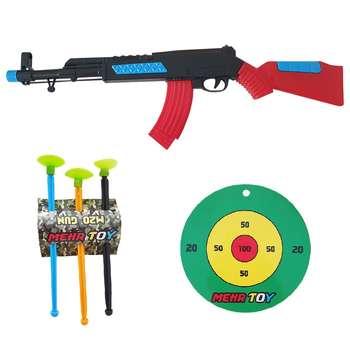 تفنگ بازی طرح کلاشینکف کد lsr مجموعه 5 عددی