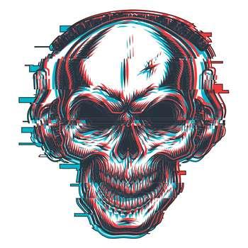 استیکر لپ تاپ گراسیپا طرح اسکلت کد 01