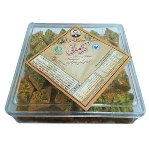 سوهان عسلی مخصوص لوزی گز کرمانی - 500 گرم