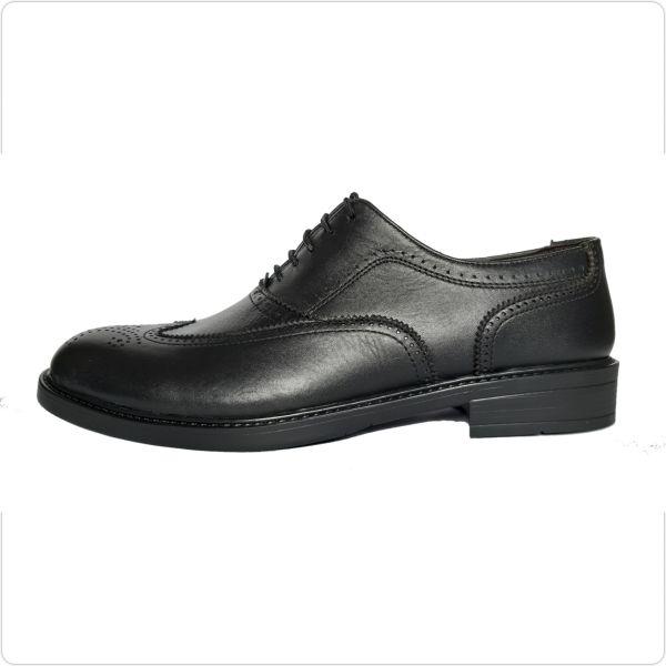 کفش چرم مردانه مدل T001