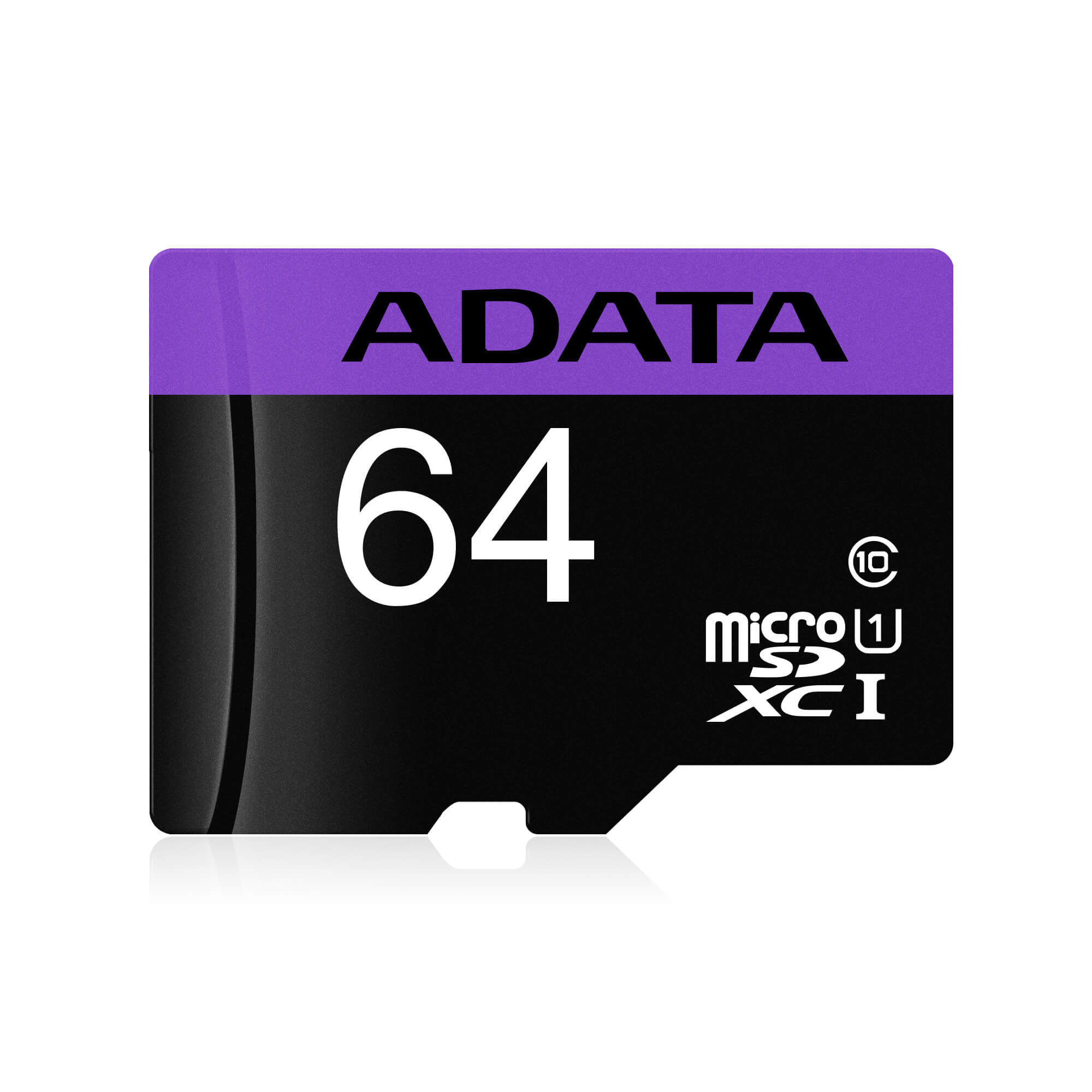 کارت حافظه microSDHC ای دیتا مدل Premier کلاس 10 استاندارد UHS-I سرعت 80MBps ظرفیت 64 گیگابایت