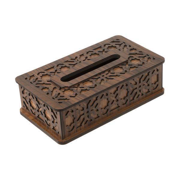 جعبه دستمال کاغذی هُم آدیس مدل نگین کد BF 012-G