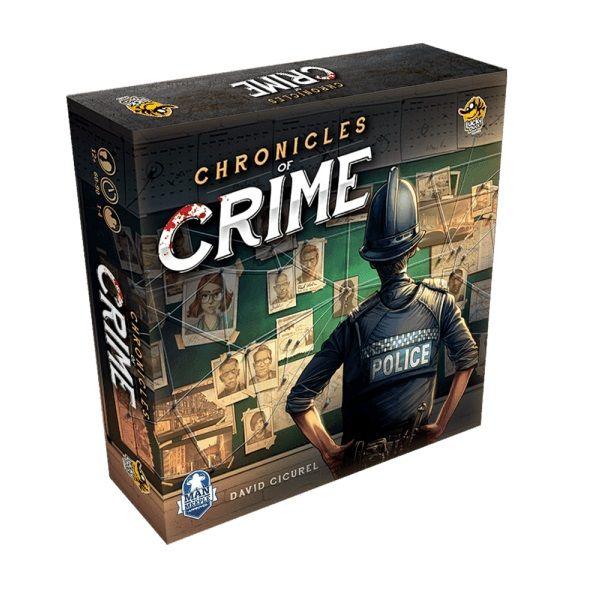 بازی فکری لاکی داک گیمز مدل Chronicles of Crime