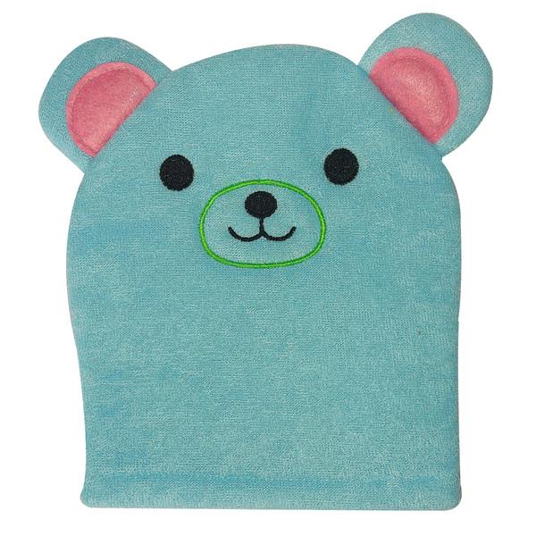 لیف حمام کودک مدل خرس کد A0005