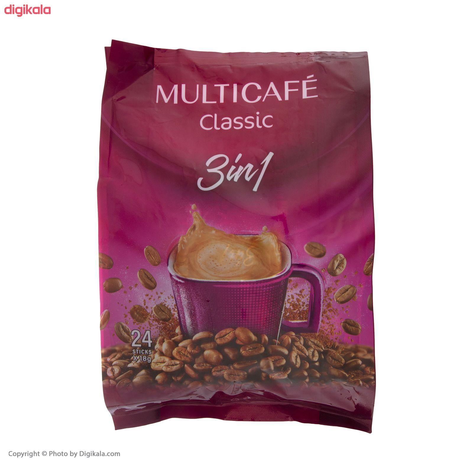 کافی میکس 3 در 1 مولتی کافه - 450 گرم بسته 24 عددی main 1 2