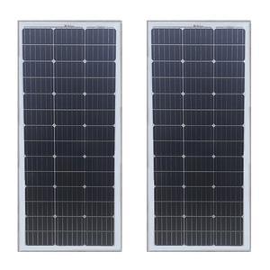 پنل خورشیدی 100 وات ویلیون مدل M-100W بسته 2 عددی