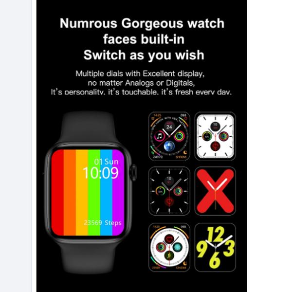 ساعت هوشمند مدل w34 plus main 1 7