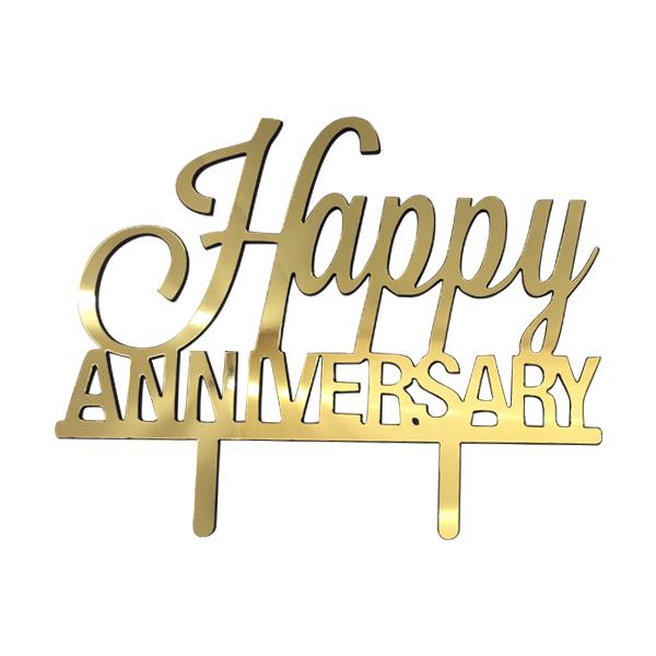 تاپر کیک طرح  سالگرد ازدواج کد T023