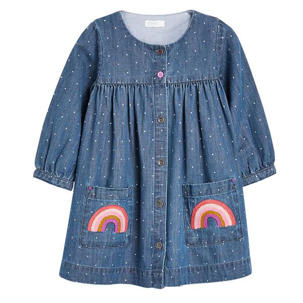 پیراهن دخترانه نکست مدل MB-01005