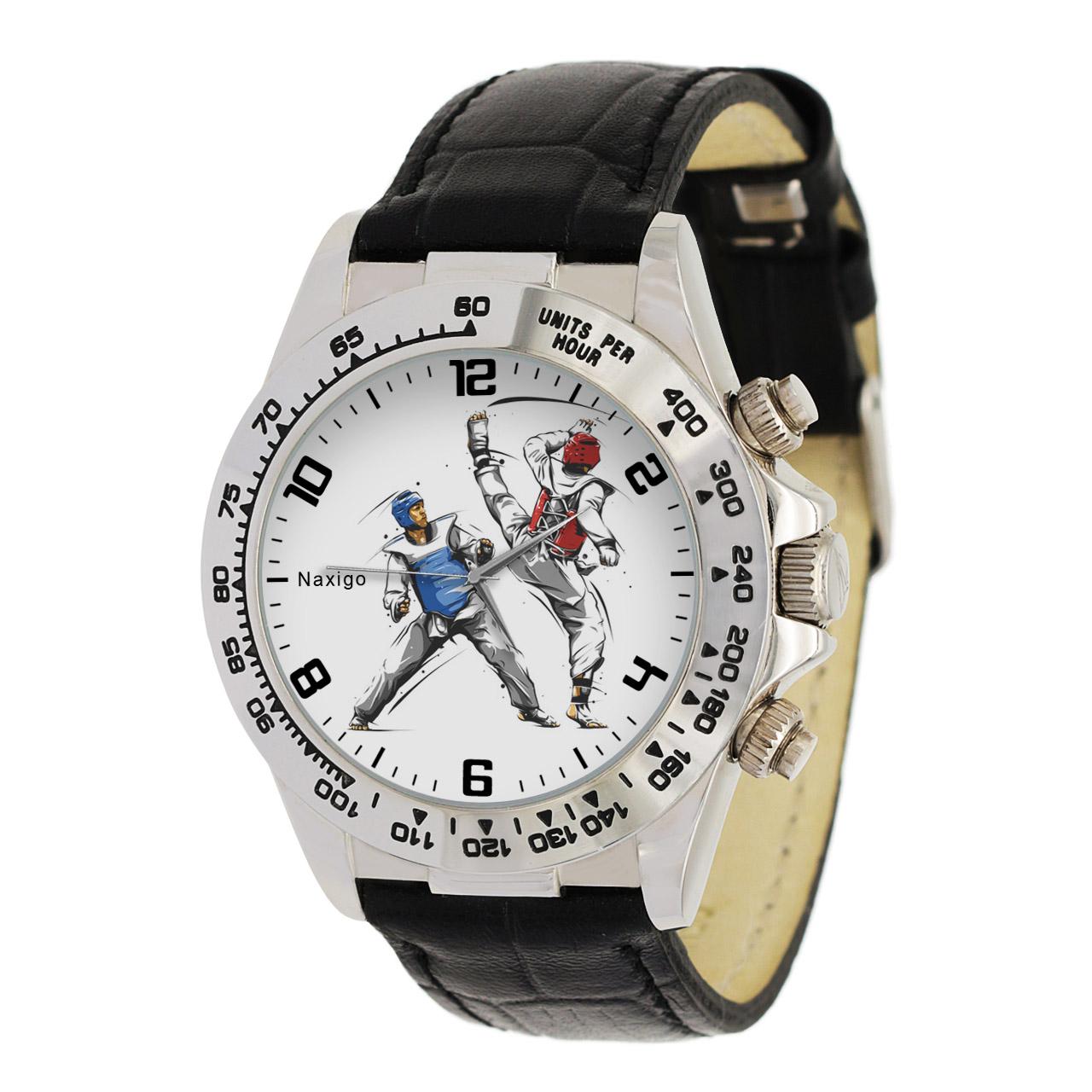 ساعت مچی  مردانه ناکسیگو طرح تکواندو کد LS3553