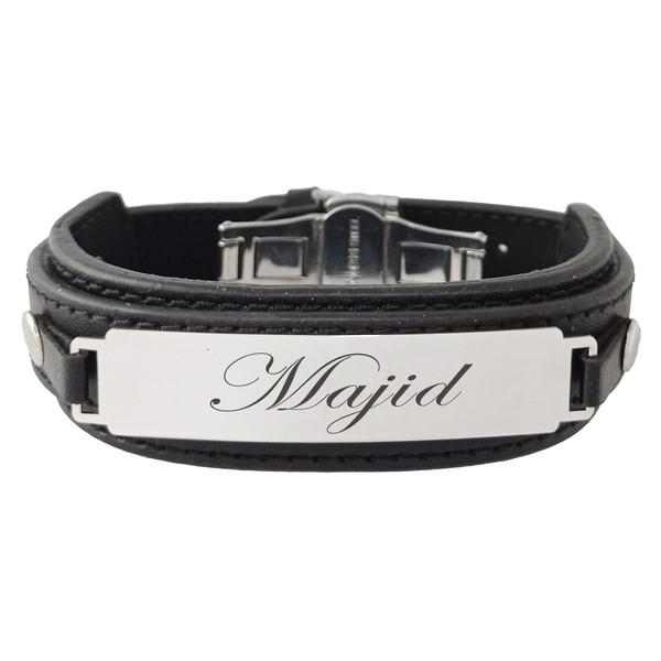 دستبند مردانه ترمه ۱ طرح مجید کد Sam 251