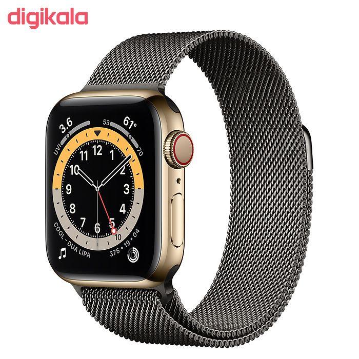 ساعت هوشمند اپل سری 6 مدل Milanese Loop 44mm  main 1 3