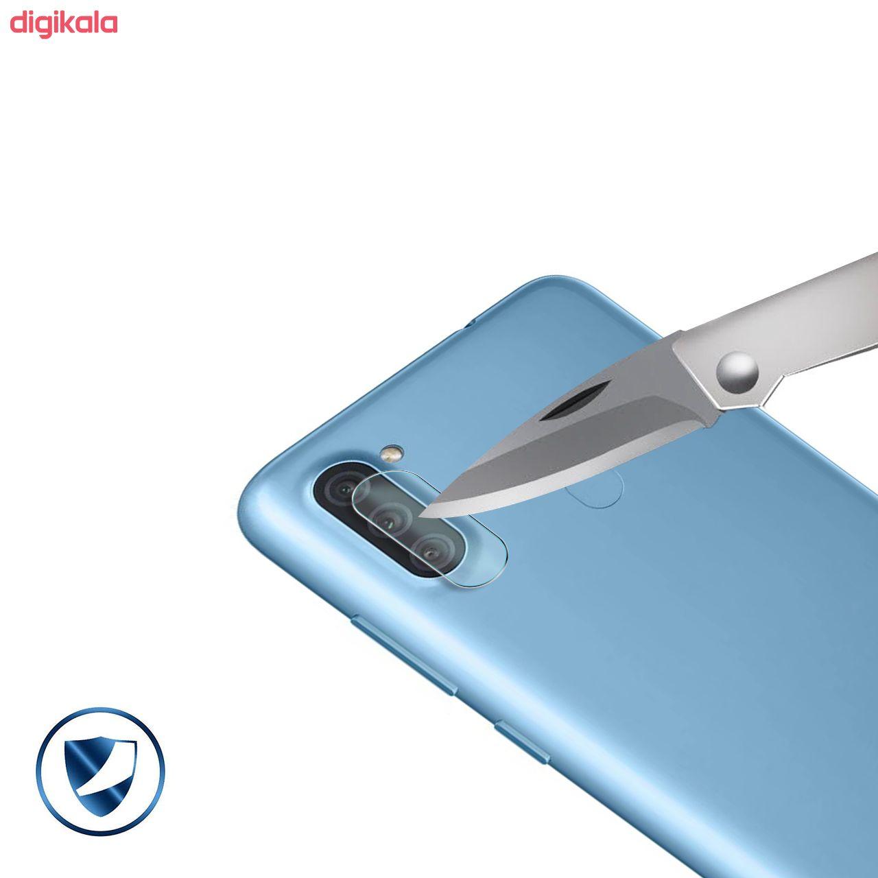 محافظ لنز دوربین سیحان مدل GLP مناسب برای گوشی موبایل سامسونگ Galaxy A11 main 1 2