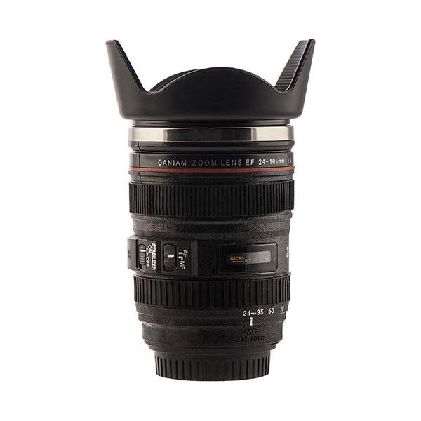 ماگ سفری طرح لنز دوربین مدل Caniam 28-135 mm
