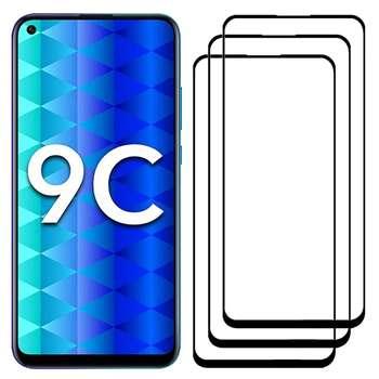 محافظ صفحه نمایش مدل FCG مناسب برای گوشی موبایل آنر 9C بسته سه عددی