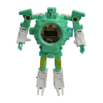 ساعت اسباب بازی دید تویز طرح ربات مدل تبدیل شونده کد 100