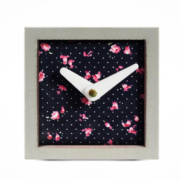 ساعت رومیزی بتنی مدل mim-03