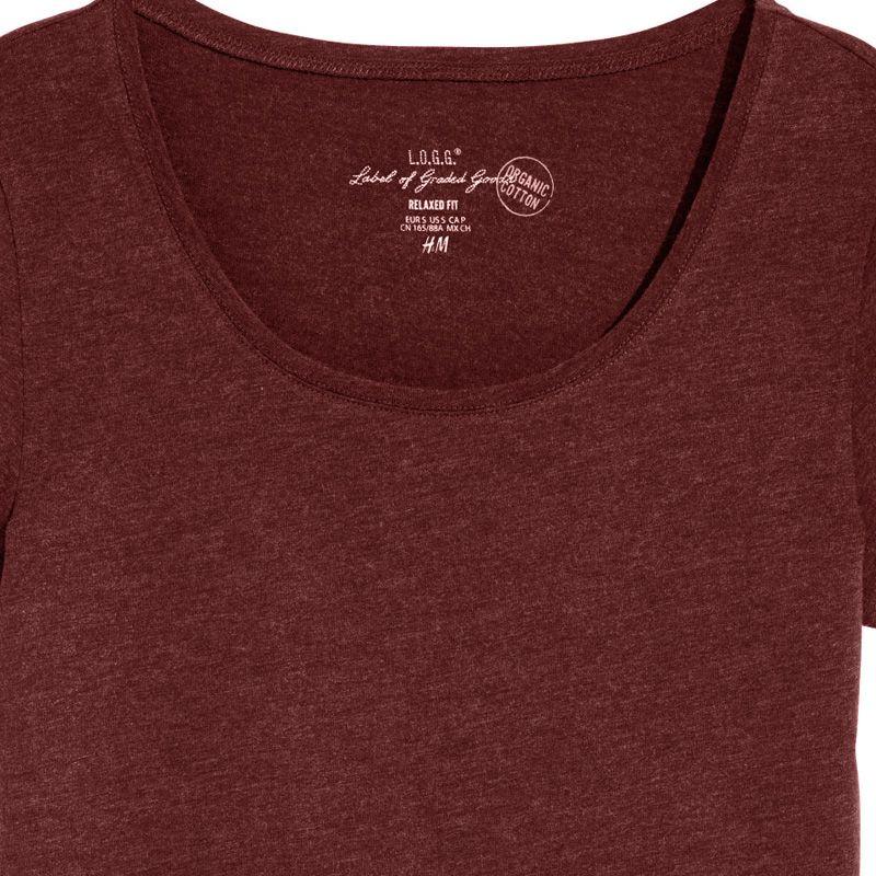 تی شرت زنانه اچ اند ام مدل M1-0298243032 -  - 5