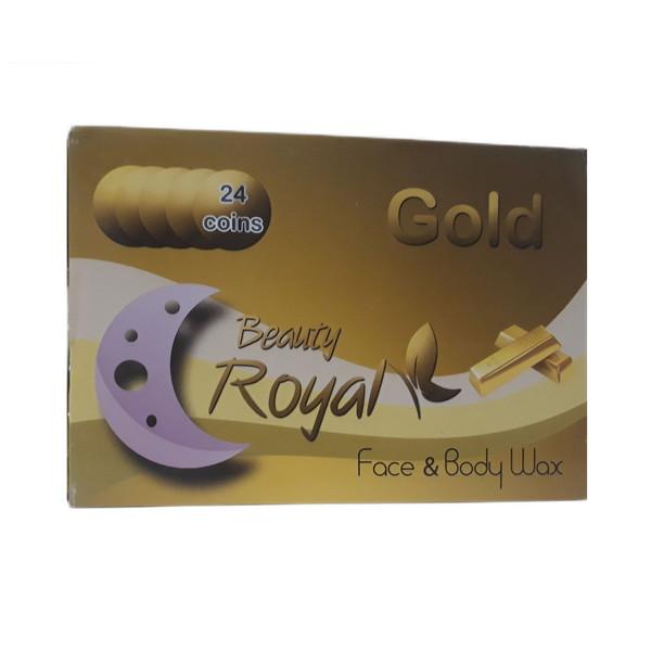 وکس موبر بیوتی رویال مدل طلا وزن 20.5 گرم بسته 24 عددی