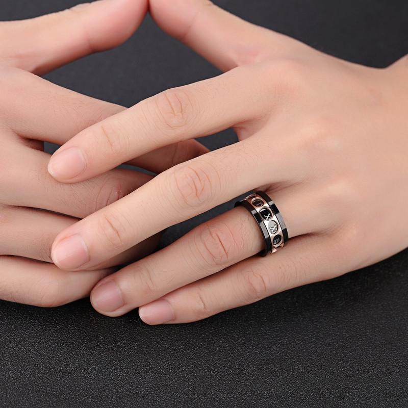 انگشتر مردانه گالری شمرون مدل RNG449B0