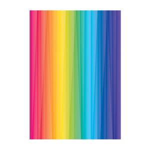 کاغذ رنگی A4 مدل رنگارنگ بسته 10 عددی