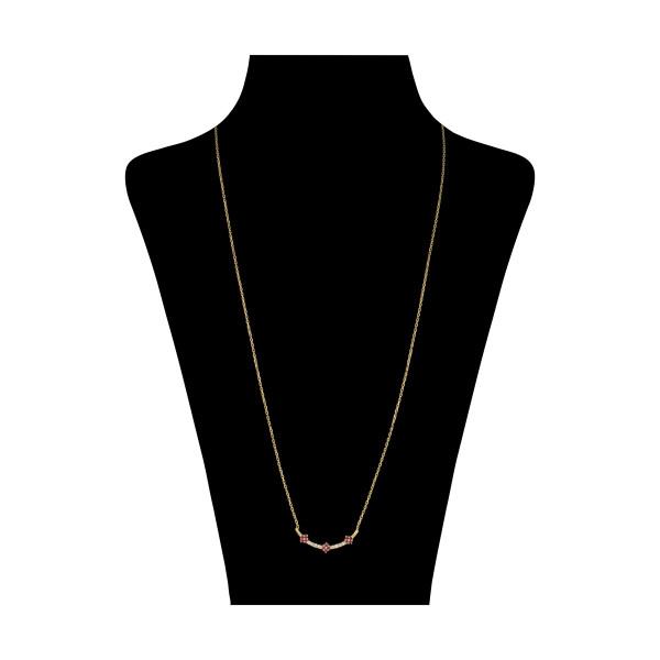 گردنبند طلا 18 عیار زنانه میو گلد مدل GD1044
