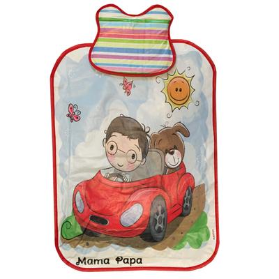 زیرانداز تعویض نوزاد ماما پاپا مدل پسرک راننده کد 4