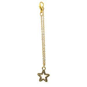 آویز ساعت زنانه طرح ستاره درخشان کد BRZ811