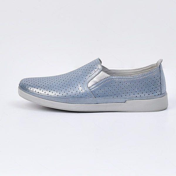 کفش روزمره زنانه چرم مشهد مدل j2312