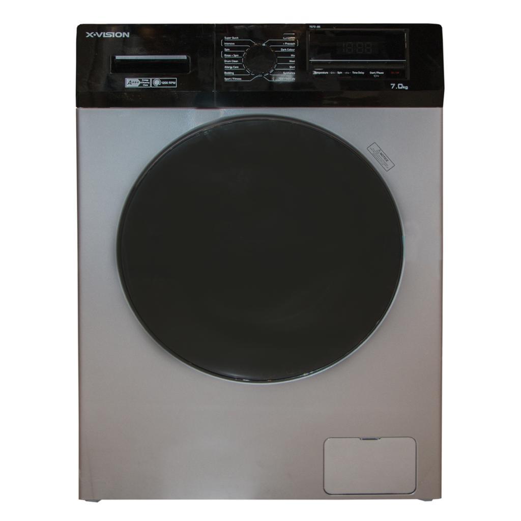 ماشین لباسشویی ایکس ویژن مدل ماشین لباسشویی ایکس ویژن مدل TG72-BW/BS ظرفیت 7کیلوگرم