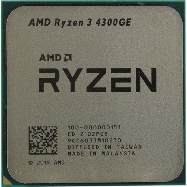 پردازنده ای ام دی مدل  Ryzen 3 4300ge