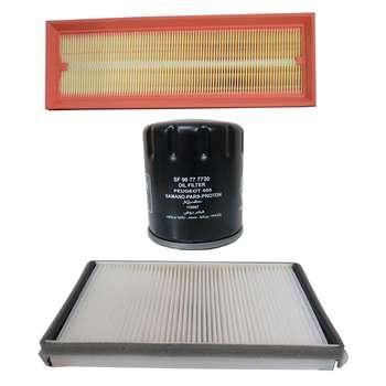 فیلتر هوا خودرو سرکان مدل SF939 به همراه فیلتر روغن و فیلتر کابین