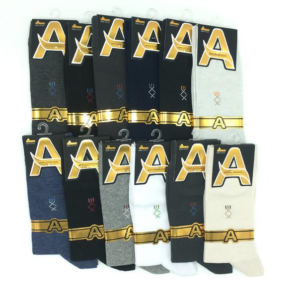جوراب مردانه ایاق کد 111 مجموعه 12 عددی