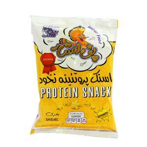 اسنک پروتئینه نخود با طعم بندری پف استار - 50 گرم