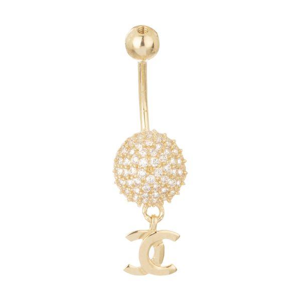 پیرسینگ طلا 18 عیار زنانه مایا ماهک مدل MO0123