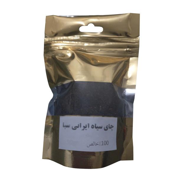 چای سیاه ایرانی سبا -1000 گرم