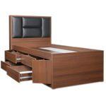 تخت خواب  یک نفره مدل 4065 سایز 200 × 120 سانتی متر thumb