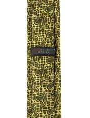 ست کراوات و دستمال جیب و گل کت مردانه جیان فرانکو روسی مدل GF-PA928-GO -  - 5
